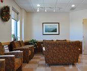 photo of patient lounge at Pioneer Valley Plastic Surgery in Springfield, MA