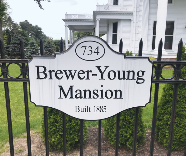 we're moving to the Brewer-Young mansion!